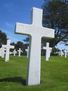 Normandy Cemetery - Marker