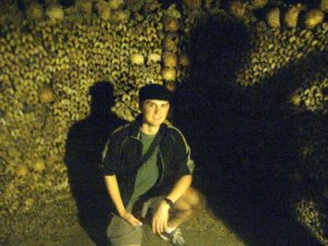 Me in the Catacombs
