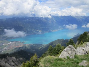 One of Interlaken's lakes