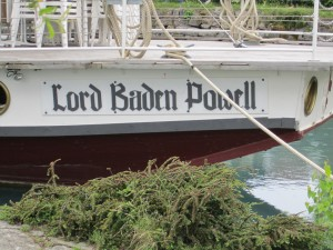 Lord Baden Powell Boat